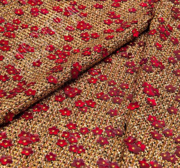 Sequined Tweed Boucle #3