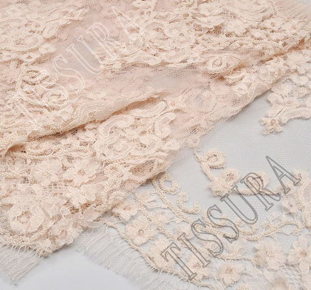 Beaded Chantilly Lace #3