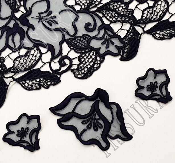 Floral Applique Lace #3