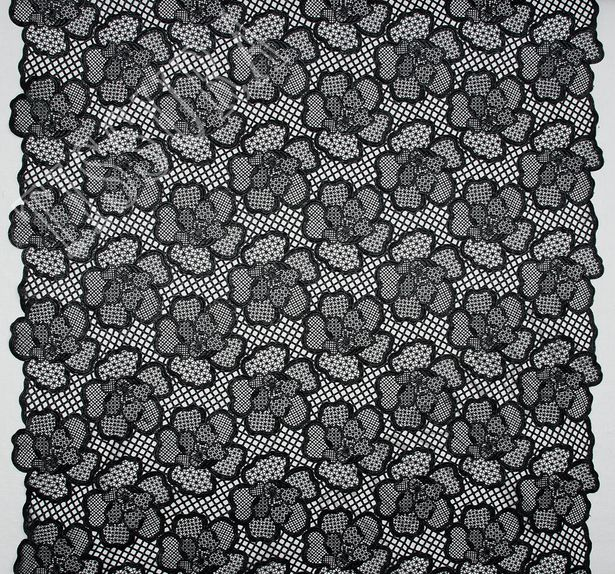 Glossy Guipure Lace #1