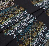 Wool Blend Jacquard #1
