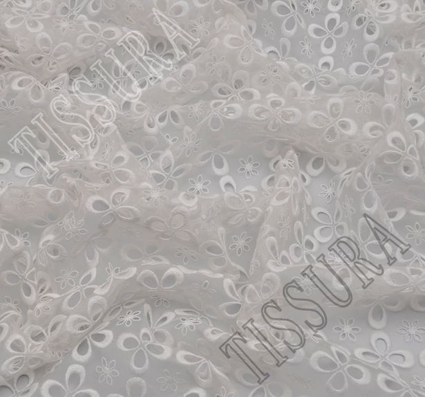 Luxury Embroidered Organza #4