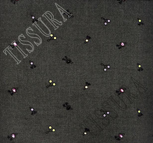 Swarovski Embroidered Tweed #3