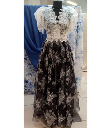 Renaissance style dress