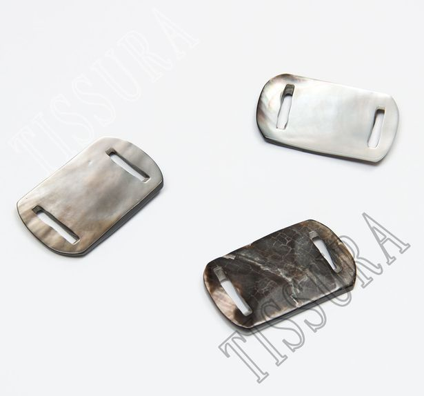 Mother of Pearl Buckle  #1