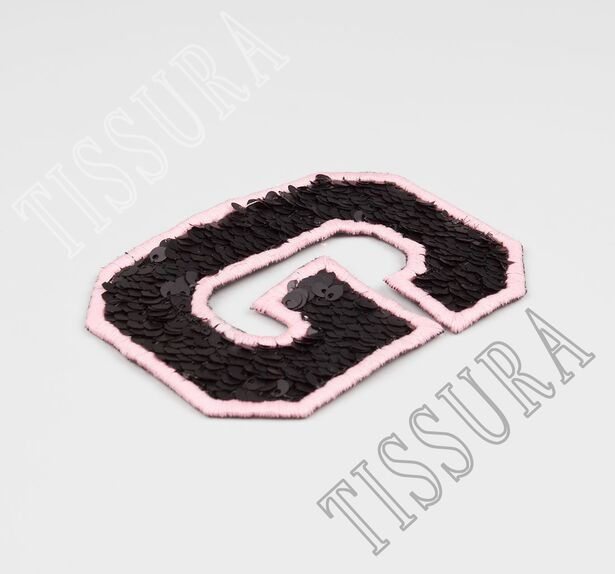 Sequin Embroidered Patch #3
