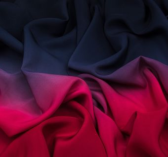 Silk Crepe Degrade #1