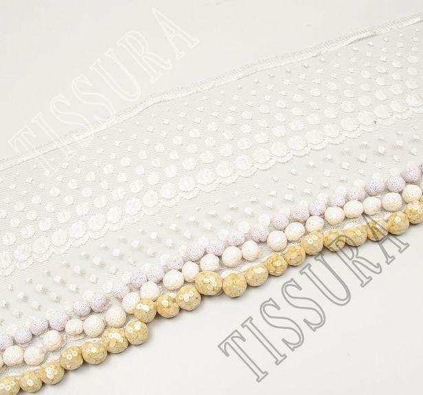 Sequin Ball Lace Trim #1