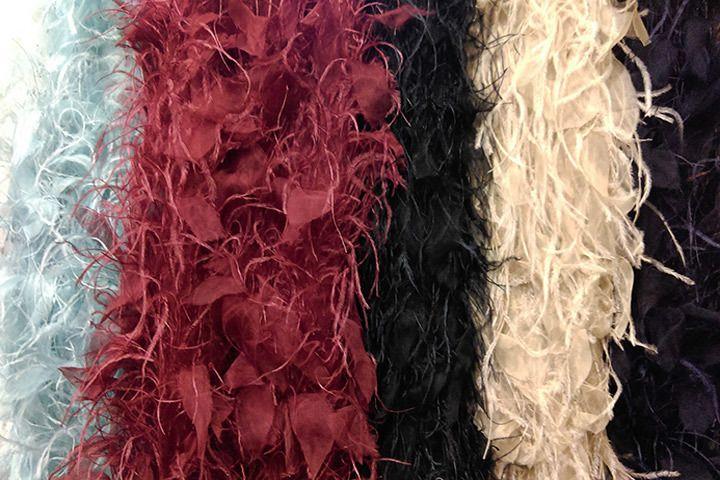 Feather fabrics