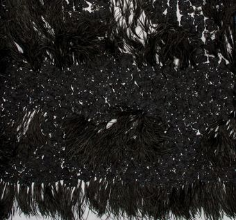Feather Embroidered Tulle #1
