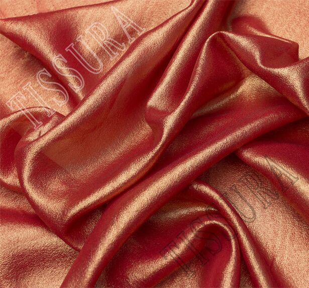 Coated Silk Georgette #1
