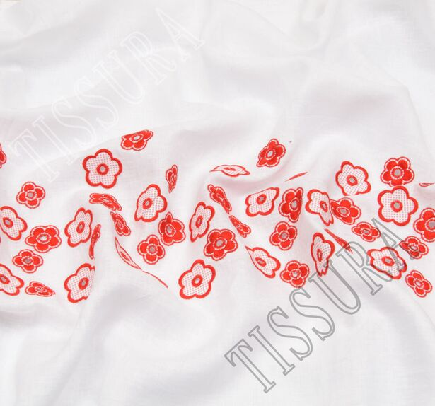 Embroidered Linen #4