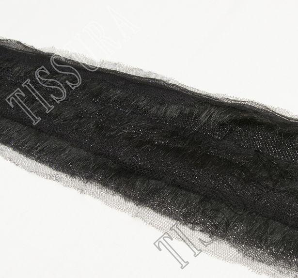 Faux Fur Tulle Trim #3