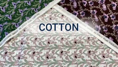 Sale 40% and 60% on Cotton