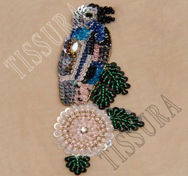 Sequin & Bead Patch #1