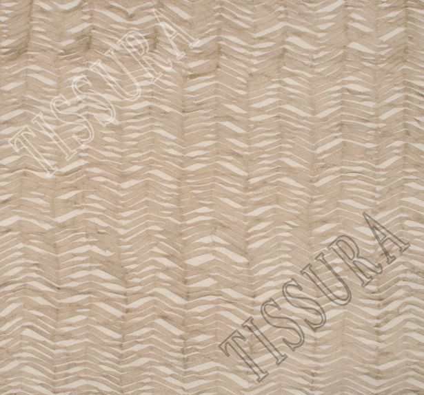 Zigzag Embroidered Tulle #3