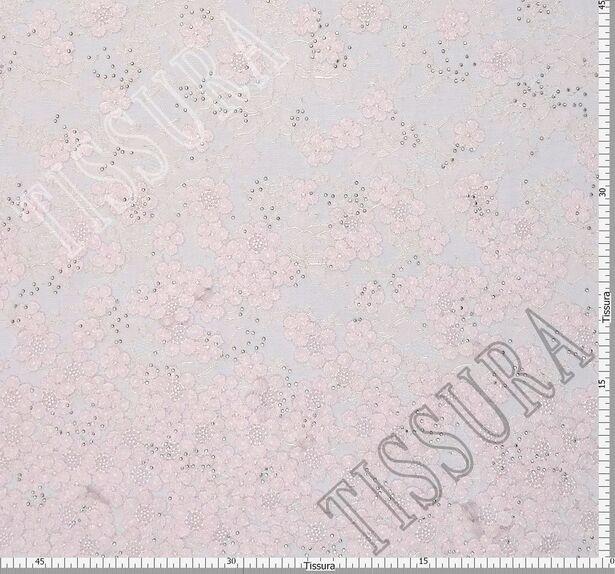 Unique Swarovski Appliqued Chantilly Lace #2