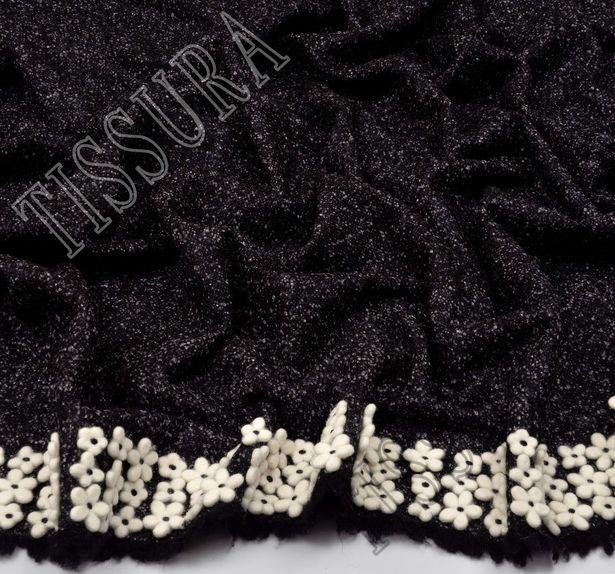 Embroidered Wool Tweed #3