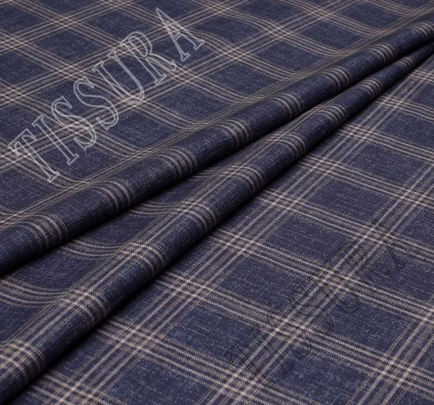 Wool, Silk & Linen Twill #1