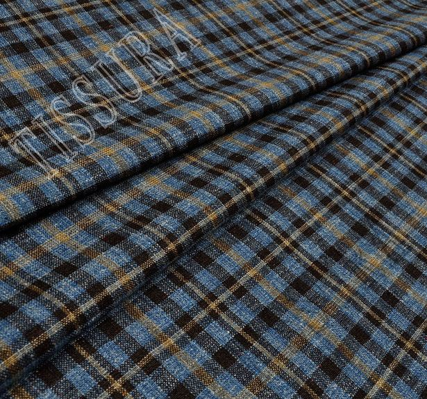 Silk, Linen & Worsted Wool #1