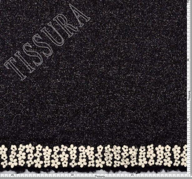 Embroidered Wool Tweed #2