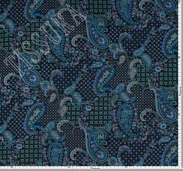Wool & Silk Jacquard #2