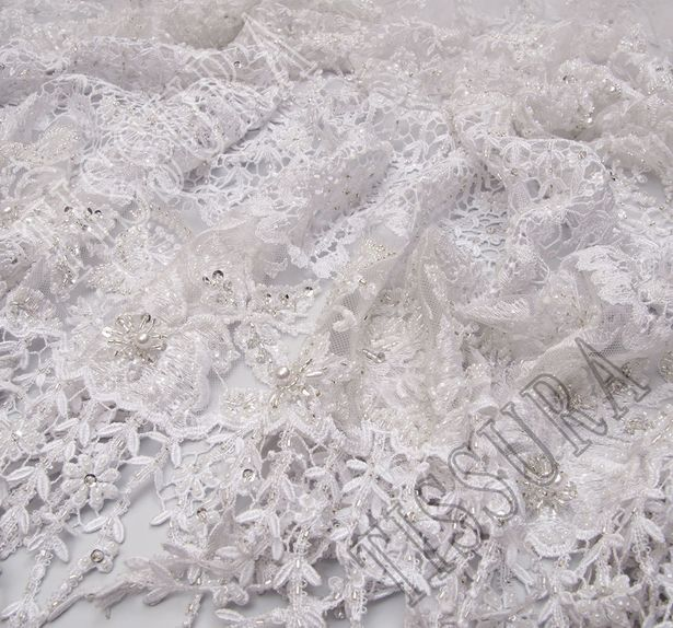 Embroidered Tulle Lace #4