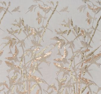 Sequined Embroidered Tulle #1