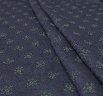 Embroidered Mohair #1