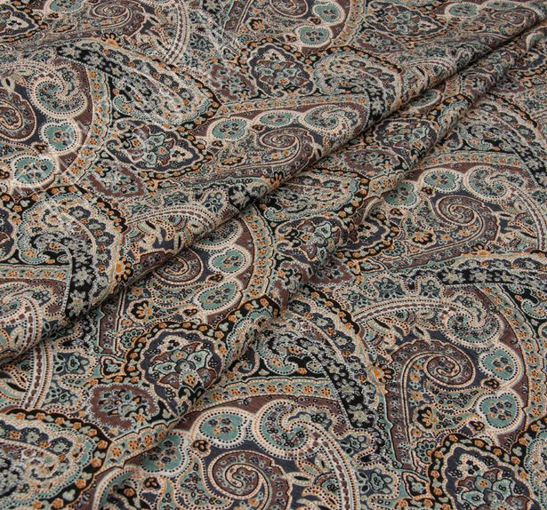Silk & Wool Jacquard #1