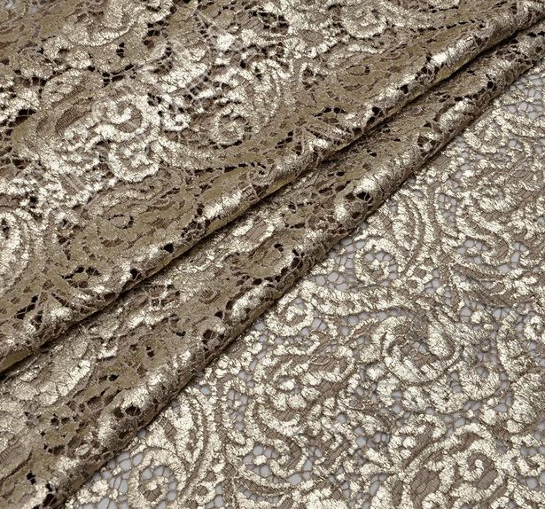 Glossy Corded Lace #1