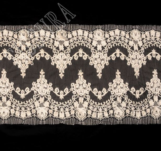 Beaded Chantilly Lace #1