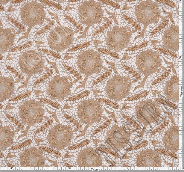 Swarovski Appliqued Guipure Lace #2