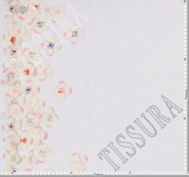 Floral Applique Tulle #2