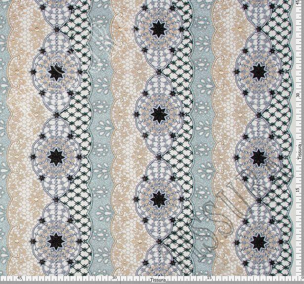 Metallic Guipure Lace #2