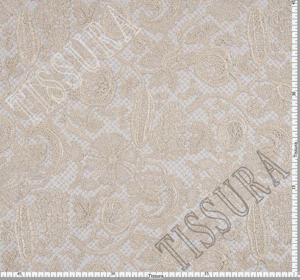 Silver Guipure Lace #2
