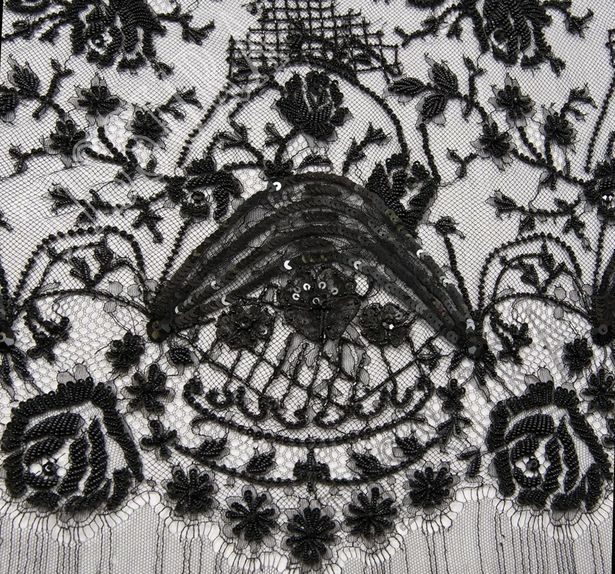 Embroidered Chantilly Lace #3