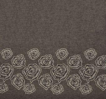 Floral Lace Appliqued Linen #1