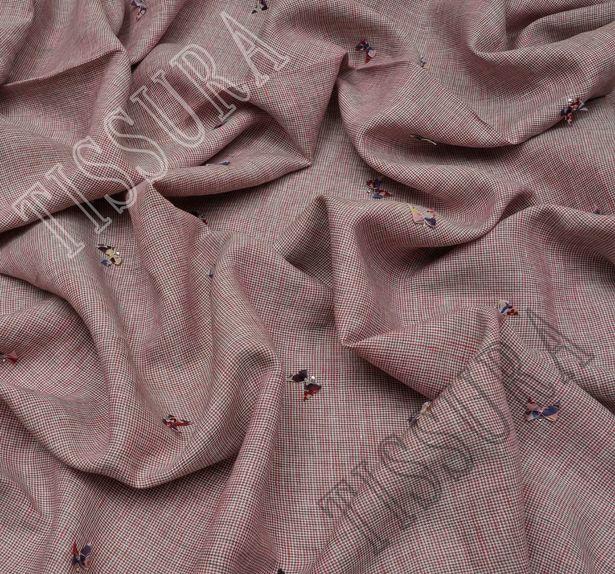 Butterfly Applique Linen #4