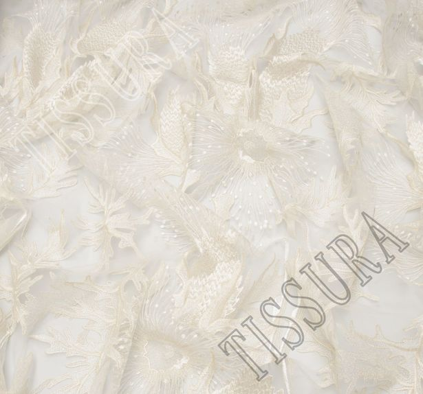 Embroidered Tulle #4