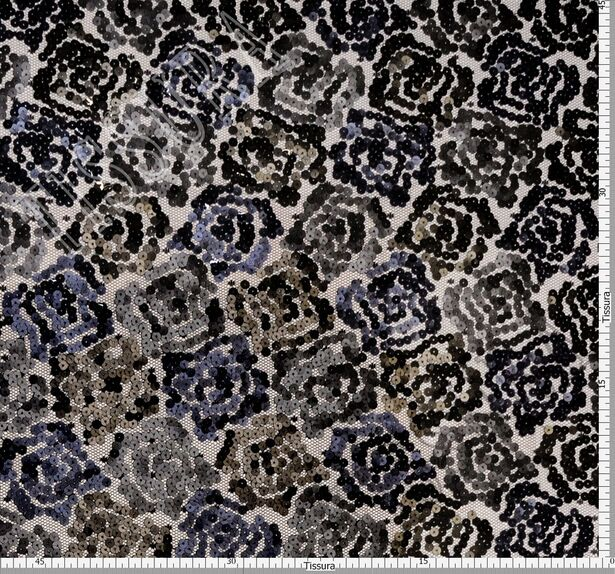 Sequined Fringe Tulle #2