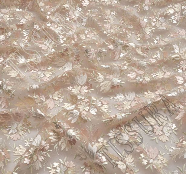 Embroidered Organza #1