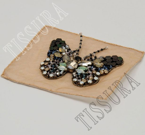Crystal & Bead Patch #3
