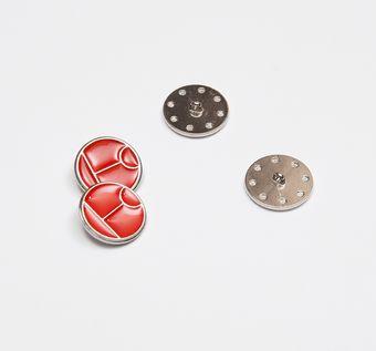 Enamel Button #1