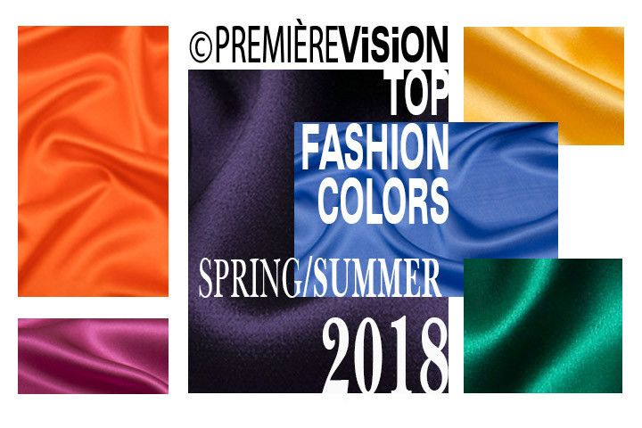 fashion colors of 2018