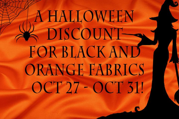 Halloween fabric collection