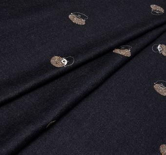 Embroidered Wool #1