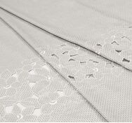 Embroidered Handcut Linen