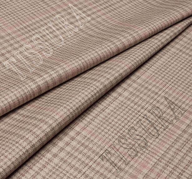 Double Faced Wool, Silk & Linen #4