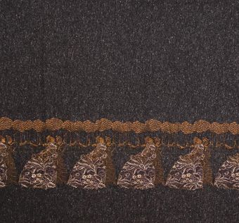 Embroidered Cashmere Tweed #1